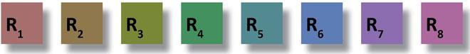 8 шаблонов для определения коэффициента CRI