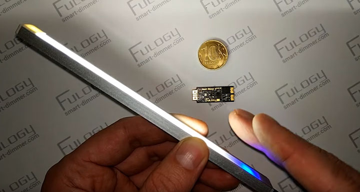 умный диммер на основе сенсора для светодиодной ленты