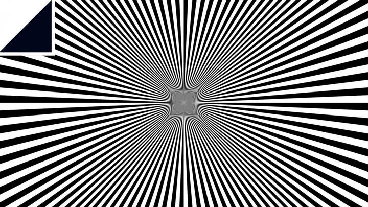 иллюзия мерцания для глаз