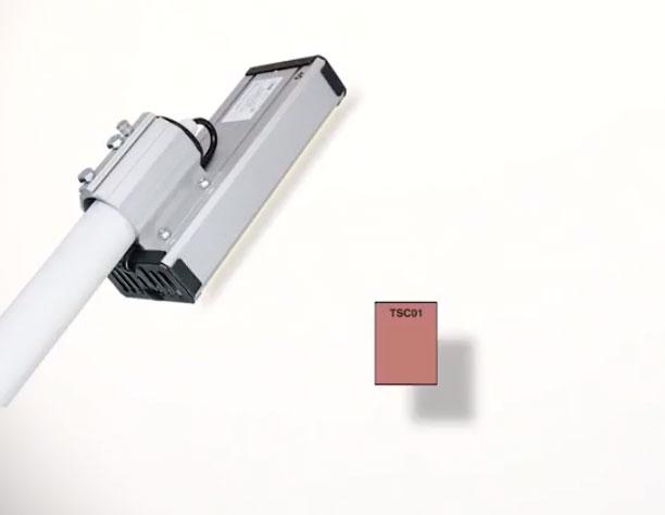 замер CRI для светодиодного светильника