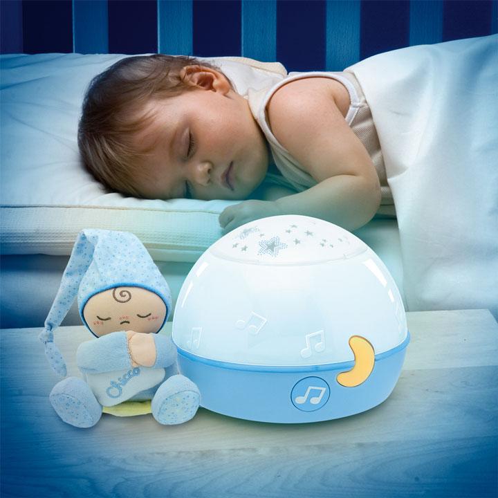 музыкальный ночной светильник для ребенка