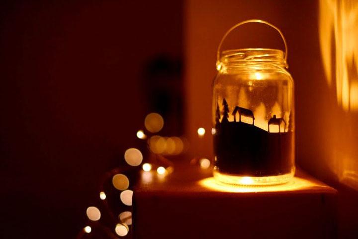 ночной светильник своими руками