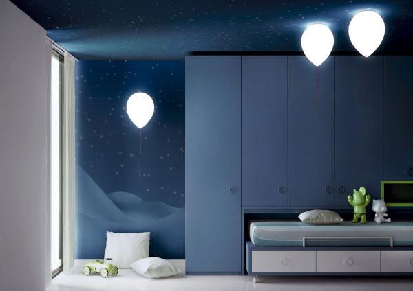 освещение в детской комнате ночью