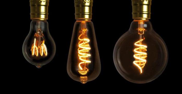 лампочка эдисона и регулировка яркости диммером