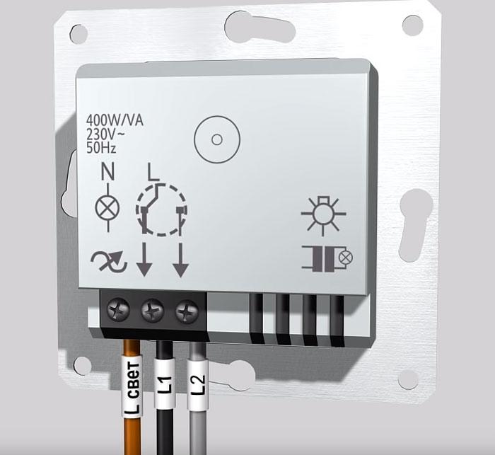 подключение диммера к электропроводке как правильно