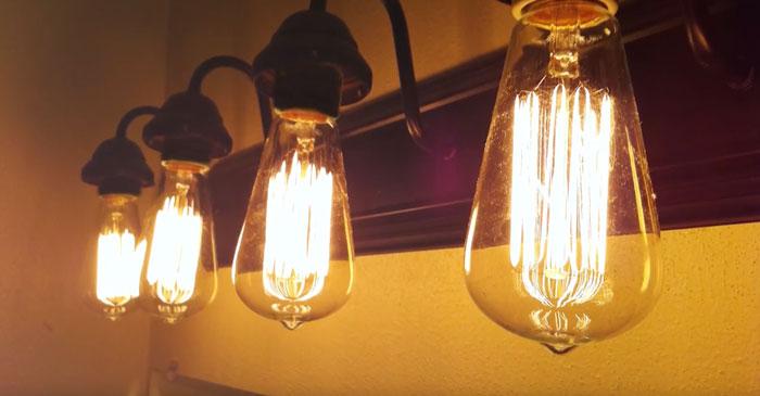как диммируются филаментные лампы