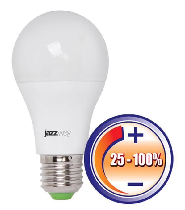 минимальный уровень уменьшения яркости светодиодной лампы