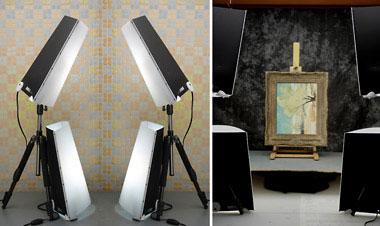 флуорисцентные светильники для видеосъемки