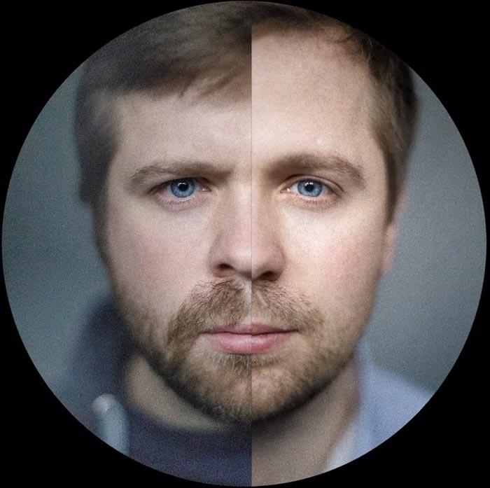 жесткий и мягкий вариант подсветки лица при видеосъемке