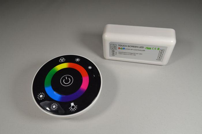 сенсорный пульт дистанционного управления контроллером RGB