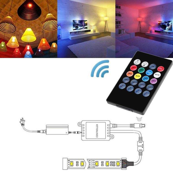 выбор контроллера для светодиодной ленты