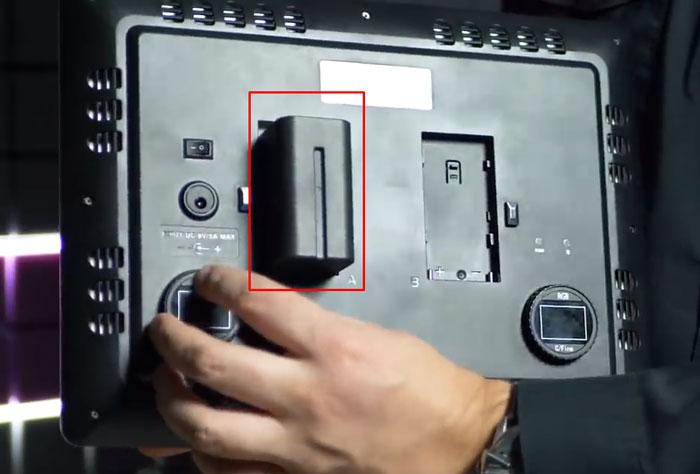 лампа для подсветки видео на батарейках