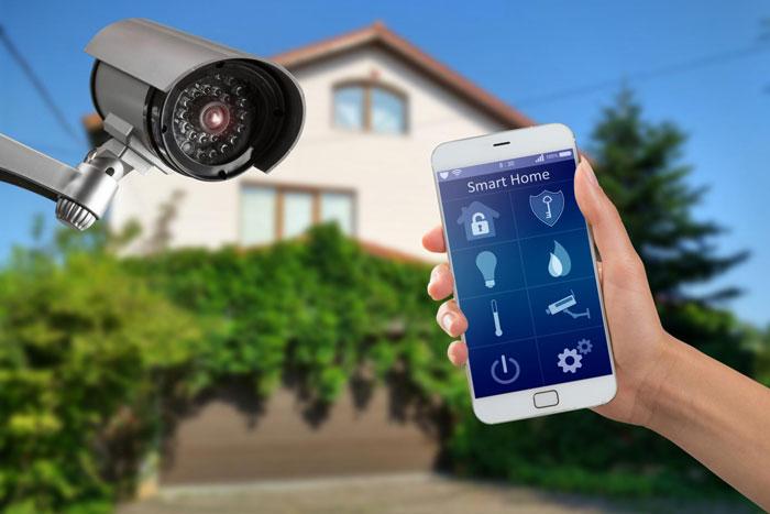 управление лампочками и камерами видеонаблюдения