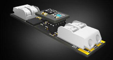 миниатюрный диммер для светодиодной ленты с подключением без пайки