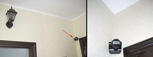 почему датчик движения лучше ставить в углу а не на стене над дверью