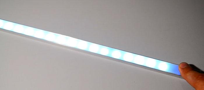 регулировка яркости сенсорным диммером для светодиодной ленты