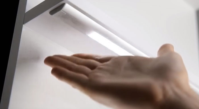 бесконтакный датчик от взмаха руки для лед посдветки на кухне
