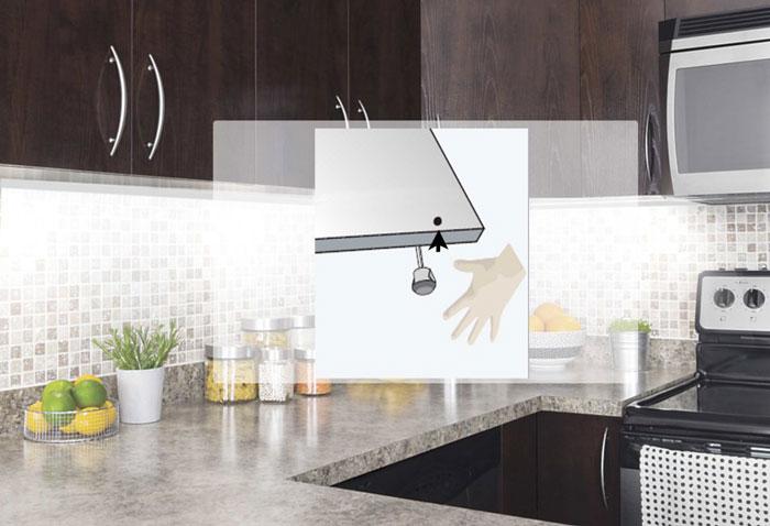 датчик взмаха руки для кухонной подсветки