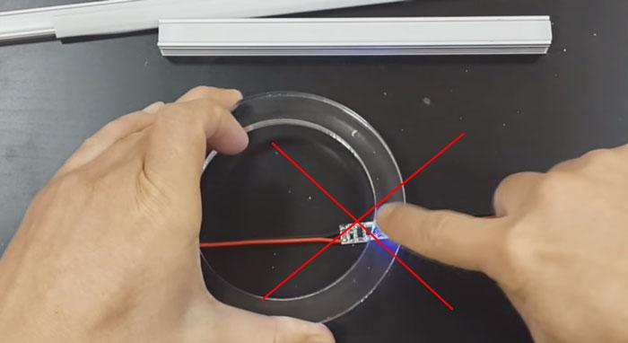 куда нельзя ставить диммер с пружинкой для светодиодной ленты