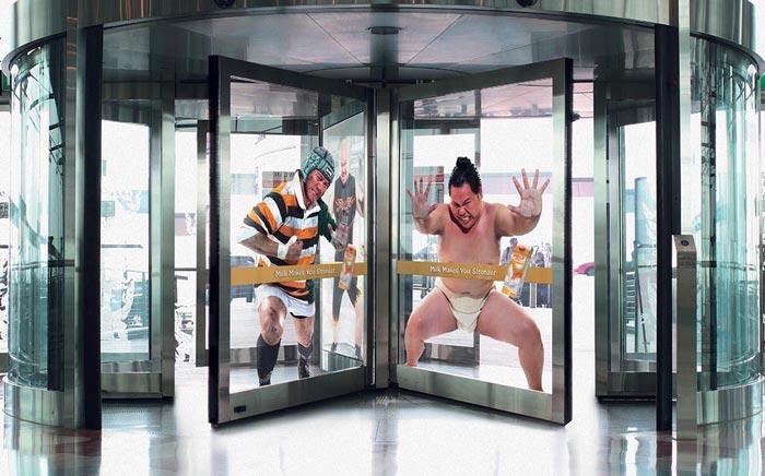 прикольные двери в торговый центр