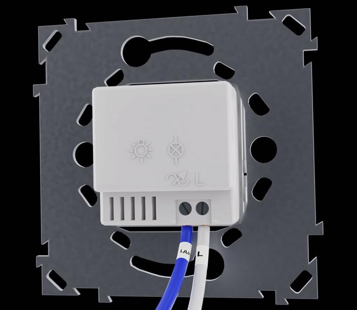 подключение двухпроводного датчика движения