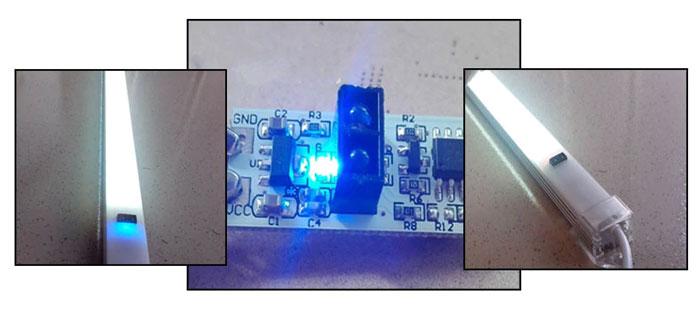 почему нужно вырезать окошко для инфракрасных выключателей