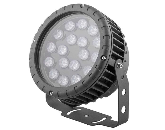 прожектор для освещения фасада здания