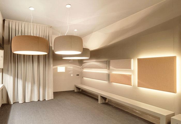 звукопоглощающие светильники в квартире