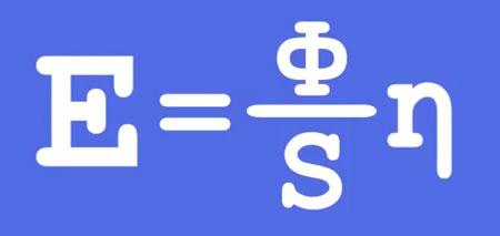 формула расчета освещенности