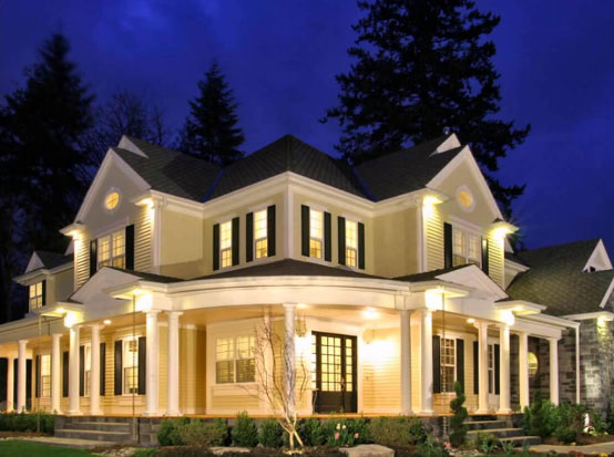 подсветка фасадов зданий14