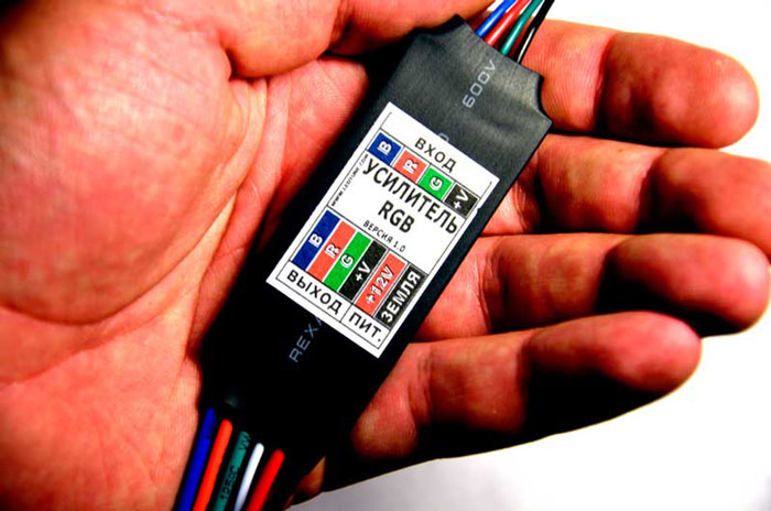 микроусилитель RGB
