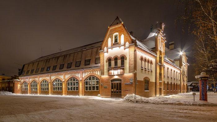 подсветка фасадов зданий11
