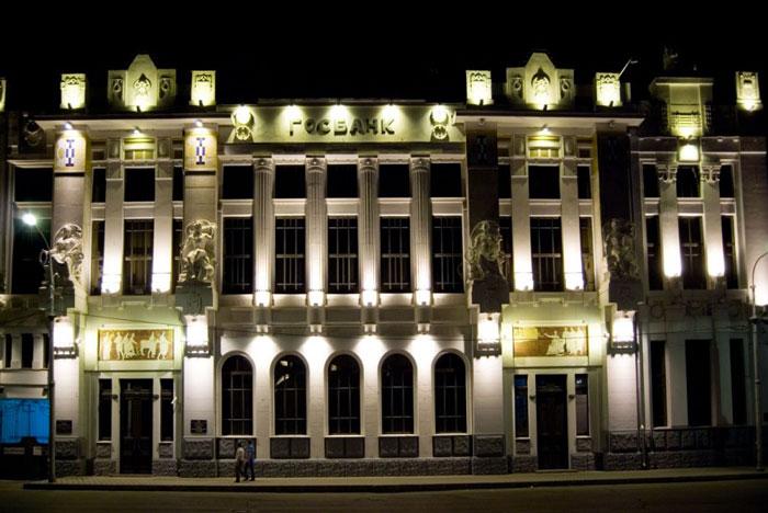 подсветка фасадов зданий10