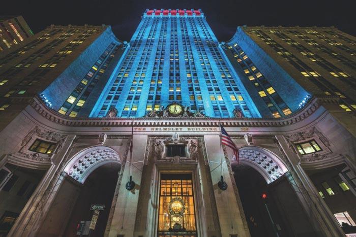 подсветка фасадов зданий7