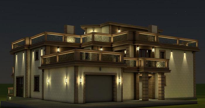 подсветка фасадов зданий6