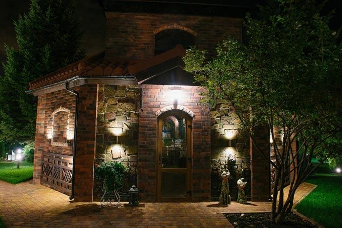 подсветка фасадов зданий1