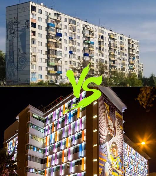 архитектурное освещение фасадов зданий и домов типы и виды