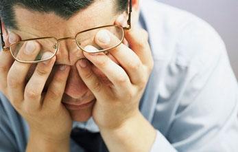 утомляемость из-за неправильного освещения