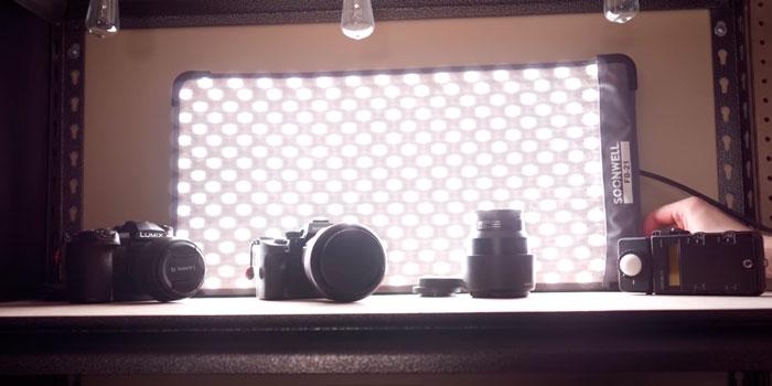 области применения гибкого света soonwell