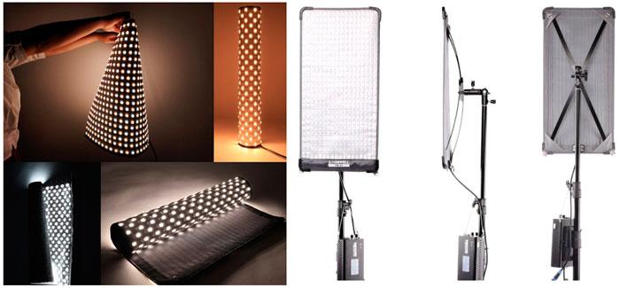 универсальный гибкий светодиодный свет для съемки видео и фото