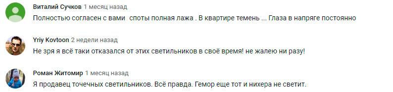 отзывы пользователей по спотам