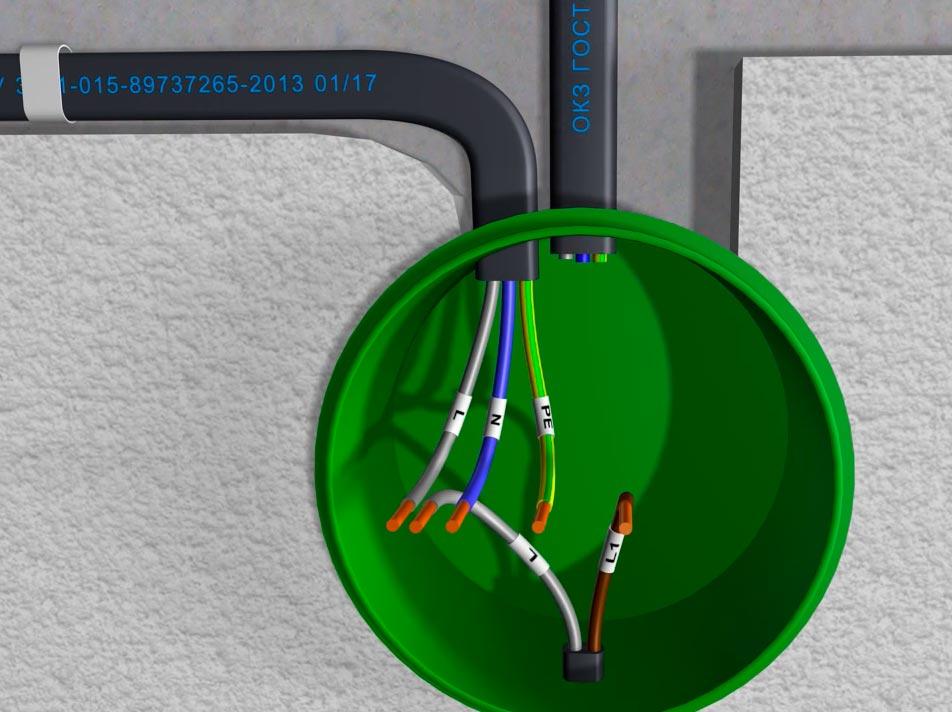 кабель для подключения светильника
