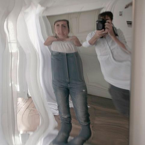 почему гримерное зеркало искажает изображение