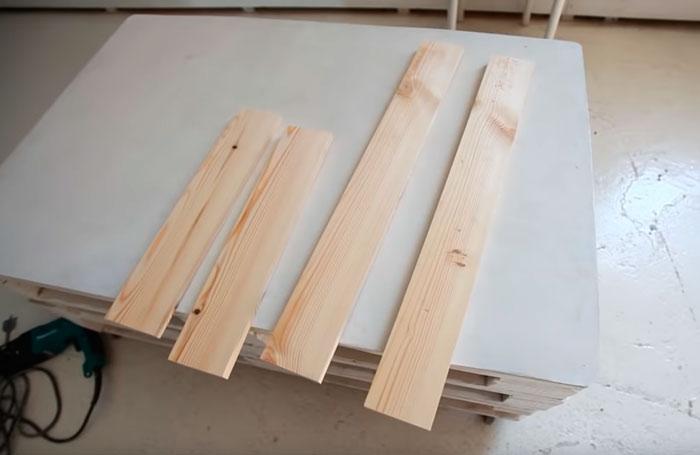 размеры доски для гримерного зеркала визажиста