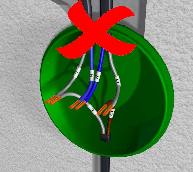 двух или трехжильный кабель для подключения освещения в квартире