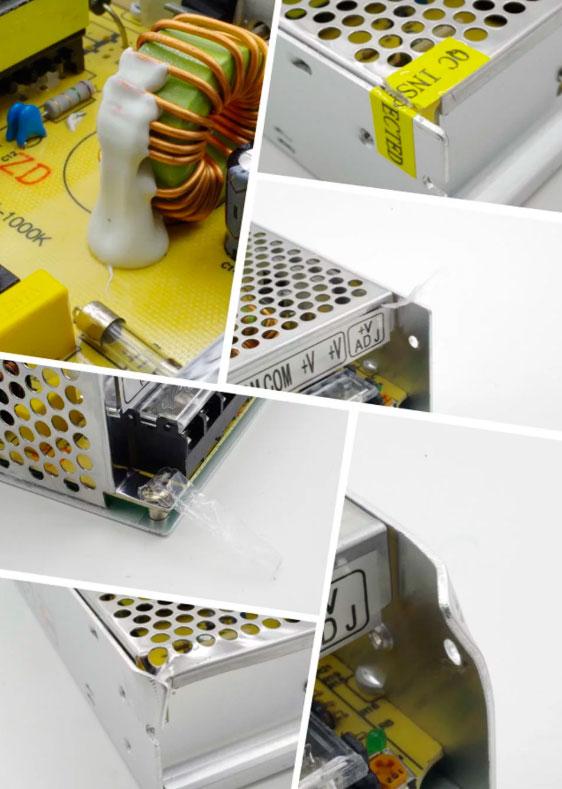 как отличить плохой блоки питания для светодиодной ленты от хорошего