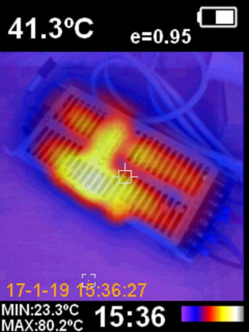 до какой температуры может нагреваться бюлоки питания светодиодной ленты