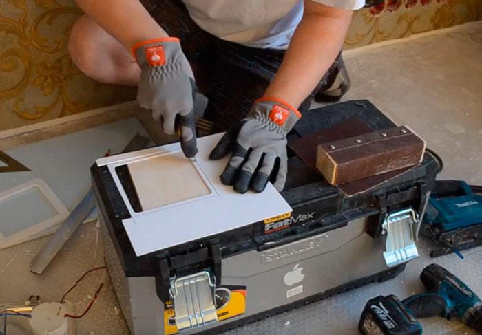изготовление квадратного термокольца своими руками