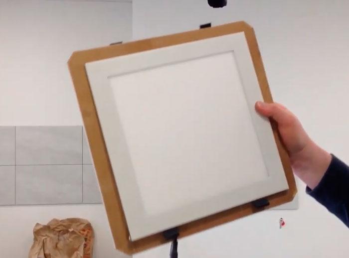 рамка под светильник на потолок