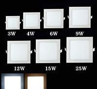 как установить квадратный светильник в натяжной потолок
